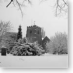 Barford snow, February 2009